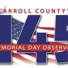 carroll's 145th memorial day observance